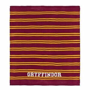 Harry Potter Gryffindor Pottery Barn Teen Pb Blanket 50x60