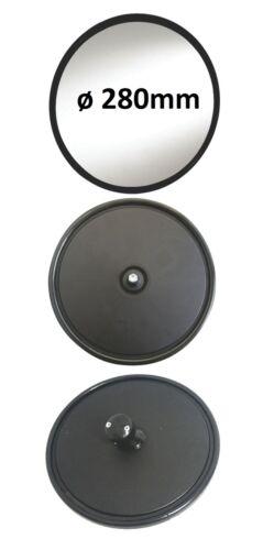 Außenspiegel Rund Glas Zusatz Anbau Spiegel LKW ø280mm ø14-23mm Halter R1800