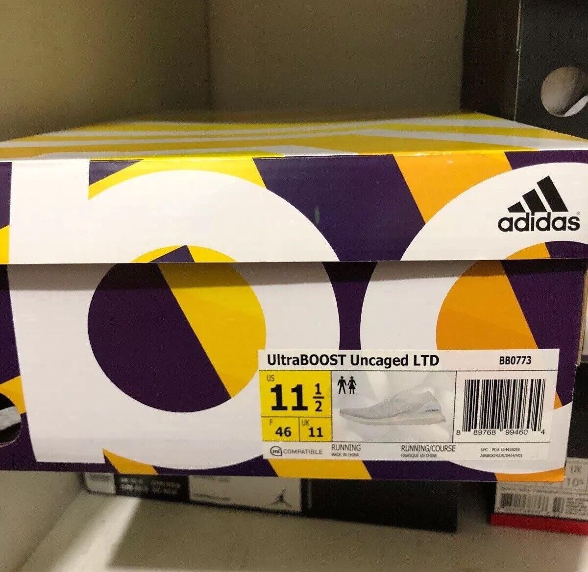 Adidas UltraBOOST Uncaged LTD Triple White (BB0773)