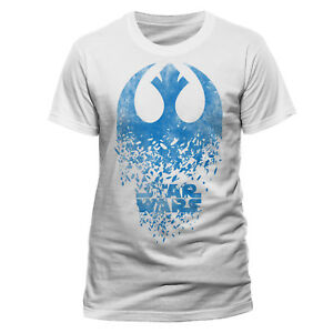 Official-Star-Wars-Badge-Explosion-T-shirt-The-Last-Jedi-White-S-M-L-XL-XXL