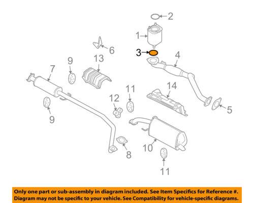GM OEM Exhaust-Catalytic Converter Gasket 96293025