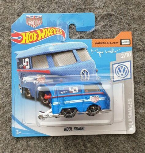 Hot wheels vw t1 camionnette Bus Kool Kombi neuf dans sa boîte voiture miniature 2//10 Volkswagen 2019 Walker