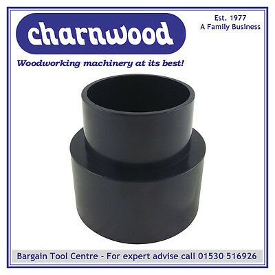 """CHARNWOOD 63//81RC Reducing Cone 63mm to 81mm 2-1//2/"""" to 3-1//4/"""""""