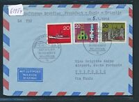 61954) LH FF Frankfurt - Tripolis 5.1.66, Brief