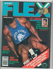 FLEX bodybuilding muscle magazine/LEE LABRADA 11-88