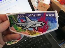 566 Malibu WWW shark patch Boys Scouts of America - LOTROB