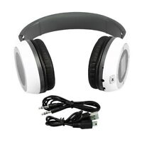 (3) Mp3-player Tf Slot Stereo Headphones W/ Fm & 4gb Sdhc Tf Card & Adapter