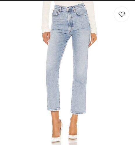 Agolde Pinch Waist High Rise Kick Flare Jeans in R