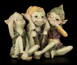 Pixie Figuren - Nichts Böses...- Anthony Fisher Fantasy Kobold Elfe Fee Deko