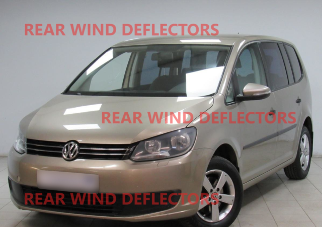 Heko Wind Deflectors 4pcs Set Vw Touran 2003 Onwards D31143 Clips