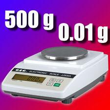 JJ-A 500g/0,01g Industriewaage Präzisionswaage Laborwaage Digital-waage