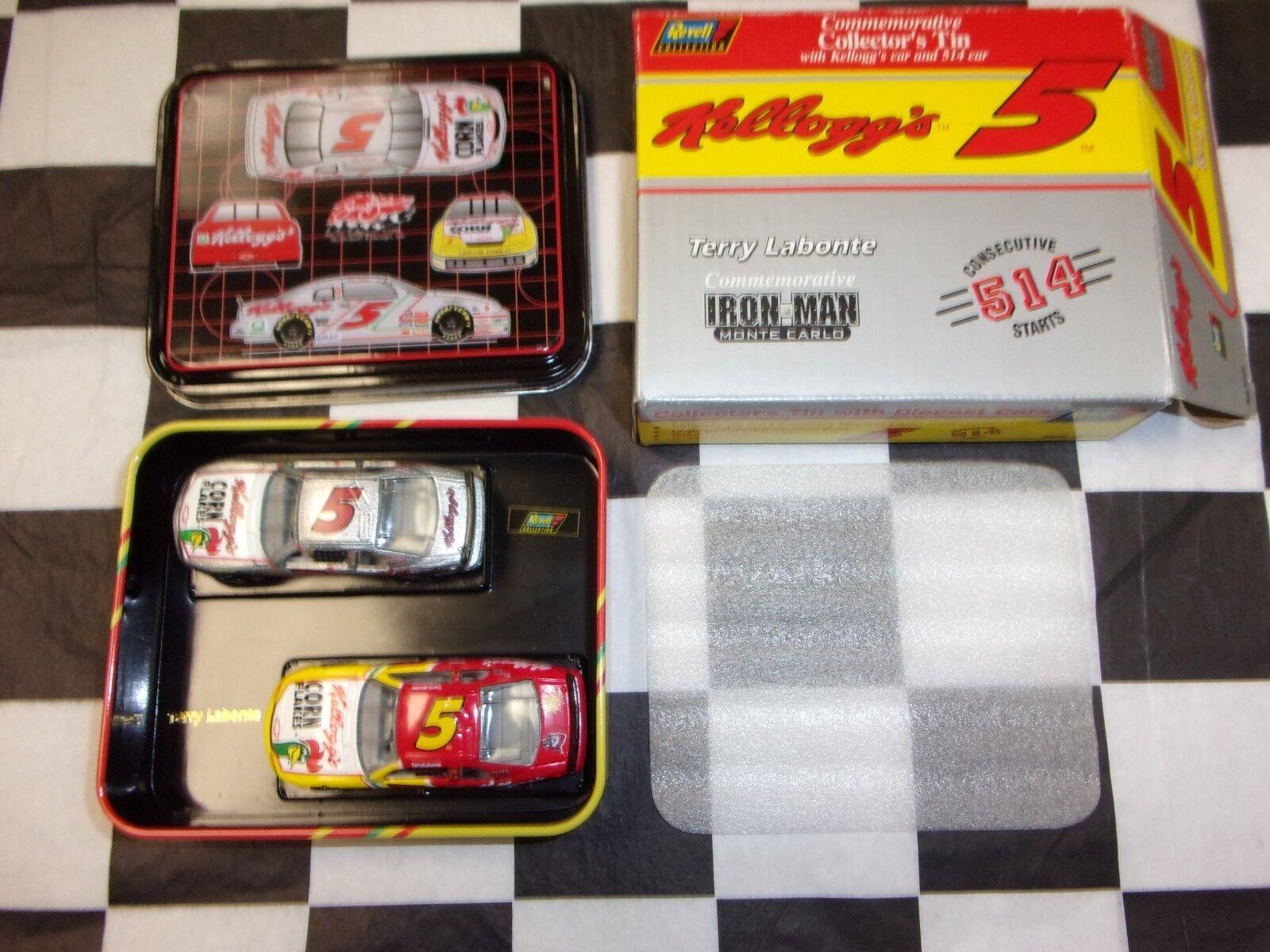 Terry Labonte Iron Man 2 car tin Starts Commemorative NASCAR