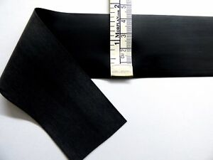 Black Latex Rubber 92cm Wide 0.45mm Thick