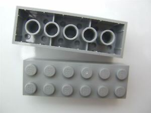 2 x Lego Grey brick size 1x1 Parts /& Pieces 4210700 with 4 knobs