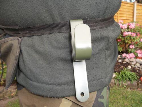 2X Draper Metal Detecting Pelle Crochets crochet uniquement transporter votre Pelle mains libres