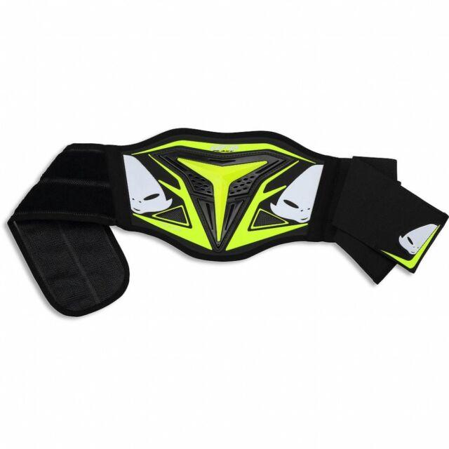 UFO Adult Demon Body Kidney Belt Protector Motocross MX Enduro Yellow CI02356D