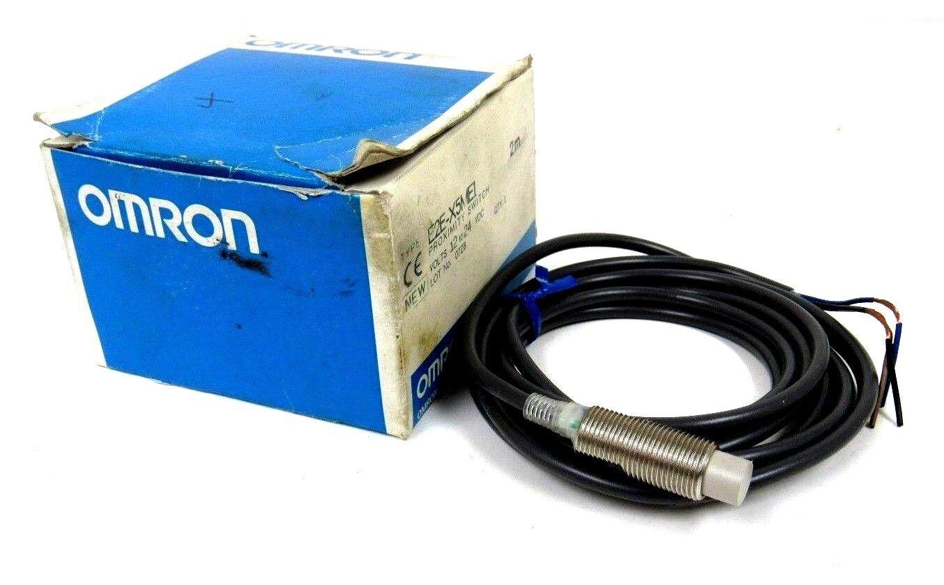NEW OMRON E2E-X5ME1 PROXIMITY SWITCH E2EX5ME1