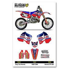 TLD Motocross Graphics Honda CR 250 1992-1994 dirt bike graphics ENJOY MFG