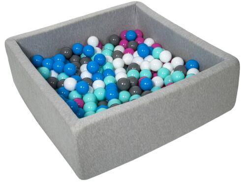 piscina secca bambino palle palline 300 ca Piscina gioco 90x90 cm