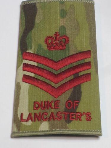 Staff Sergeant,MTP Duke of Lancaster´s Regiment Rangschlaufe
