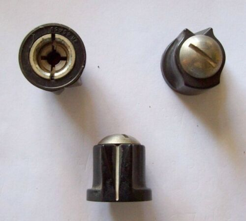 "Recovered Clutch Style Knob for 1//4/"" dia shaft"