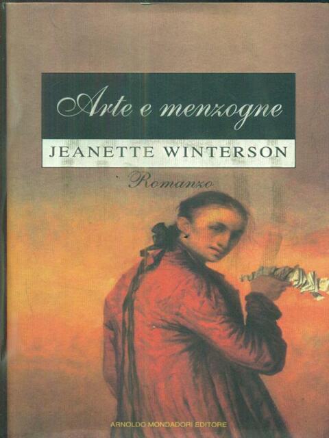 ARTE E MENZOGNE  JEANETTE WINTERSON MONDADORI 1996 OMNIBUS