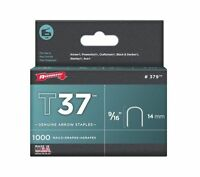 Arrow 379 10 Pack 9/16in. T37 Genuine Staple 1,000/box