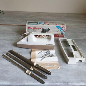 Couteau électrique Moulinex Vintage dans sa boite d'origine