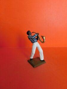 Cbg Mignot : Cirque Ou Civils : Musicien De Jazz 1 Figurine Leed Jazz Musician