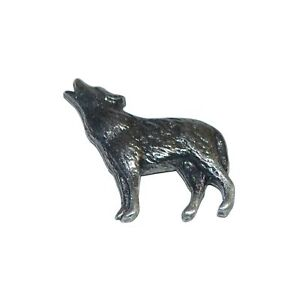 Loup-Hurlant-Badge-Pins-a-Goupille-Broche-Pack-Chien-BNWT-Cadeau-Neuf