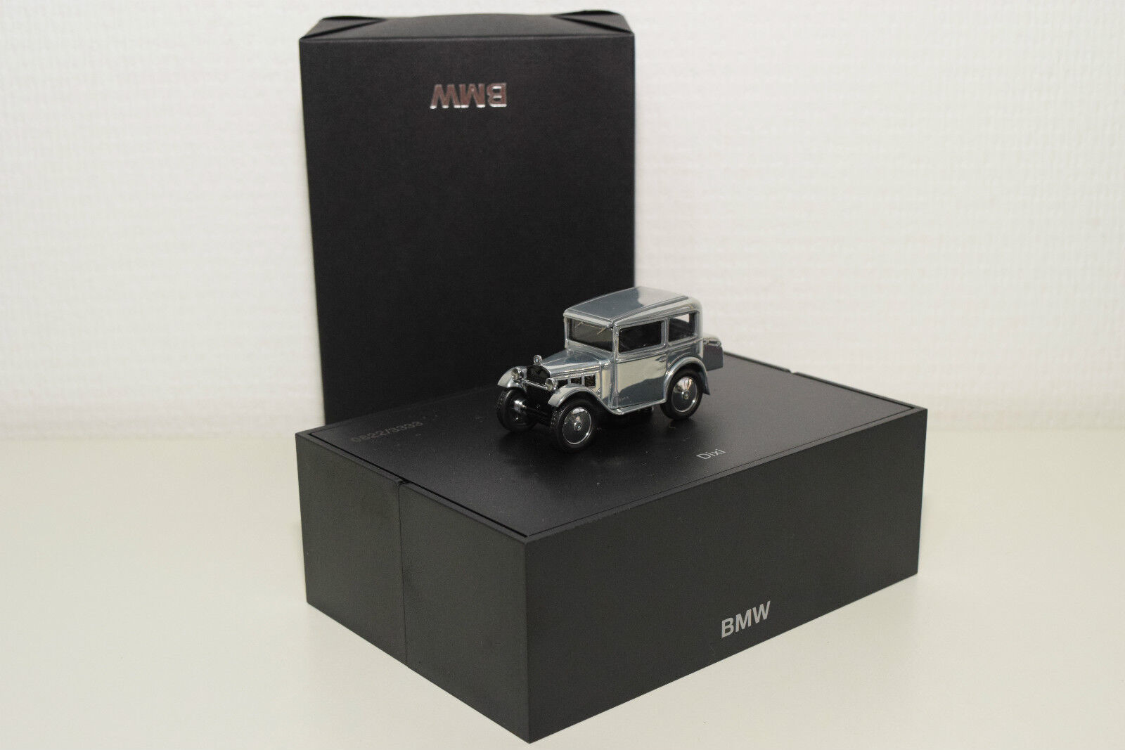 SCHUCO BMW DIXI CHROME PLATED MINT DEALER BOXED RARE SELTEN 0822 3333