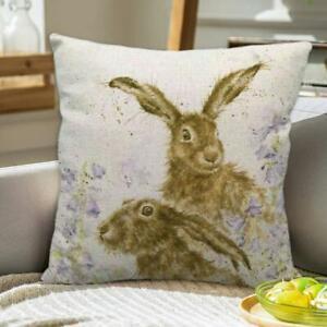 Pillow Case Animal Rabbit Print Sofa Throw Cushion Cover K6G7