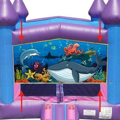 Swell Under The Sea Vinyl Art Panel 13X13 Modular Inflatable Bounce House Banner 754972356657 Ebay Home Interior And Landscaping Ferensignezvosmurscom
