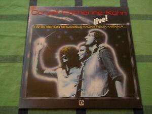 Coryell-Catherine-Kuehn-Live-LP-washed-gewaschen-M
