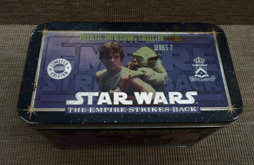 STAR WARS 1994 Metallic Images Images Images 20 Empire Strikes cards Box tin set + Coa trading 8afb56