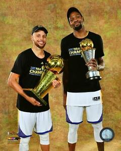 Image Is Loading 2017 FINAL Stephen Curry Amp Kevin Durant TROPHIES