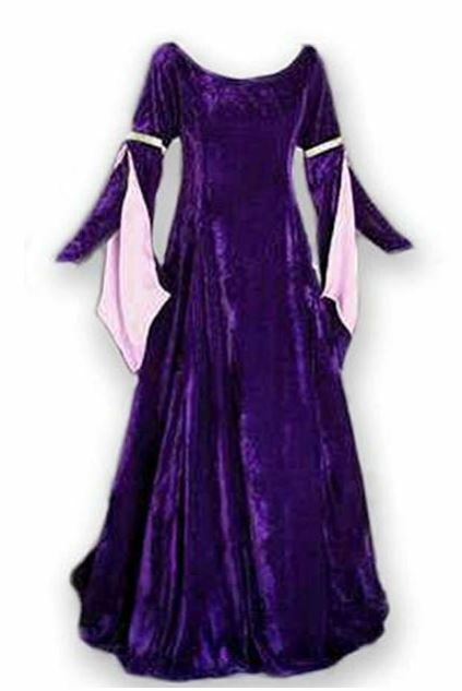 CL629 Medieval Queen Red Gown Game Thrones Renaissance Maid Marian Dress Costume