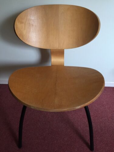 Vintage IKEA plywood easy chair ID No.14552 Occasional Accent Eames Style