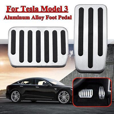 Topfit Tesla Model 3 Non-Slip Performance Foot Pedal Pads brake foot pedal cover