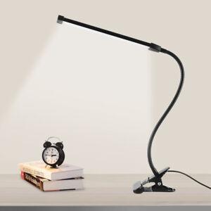 LED Pince Lampe de Table Bureau Lampe de Chevet USB