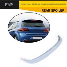 Car Rear Spoiler Roof Wing Fit for VW Golf 6 VI MK6 GTI R20 10-13 Unpainted FRP