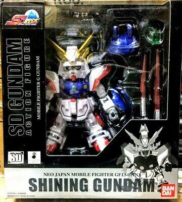 Bandai Gundam SD series Gundam Fighter Shining Gundam action figure
