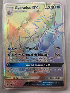 GYARADOS GX Crimson Invasion 112/111 Hyper Rainbow Rare NM/M Pokemon