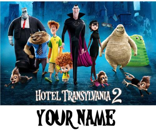 ALL SIZES avail. Custom HOTEL TRANSYLVANIA tshirt Personalize Birthday ADD NAME