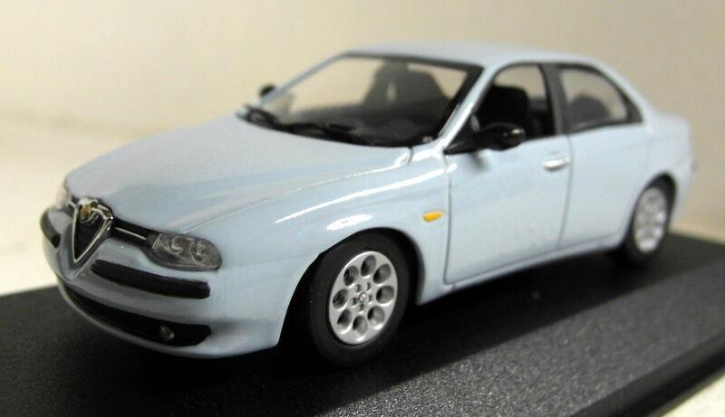 Minichamps 1 43 Scale 430 120704 Alfa Romeo 156 Saloon 97 bluee diecast model car