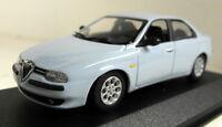 Minichamps 1/43 Scale 430 120704 Alfa Romeo 156 Saloon 97 blue diecast model car