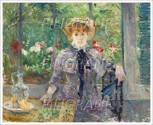 Berthe Morisot - Apres Le Dejeuner - Poster/reproduction 60x90cm D'1 Tableau