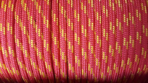 8mm Braided Polypropylene Poly Rope Cord Yacht Various Colours PRICE PER METER