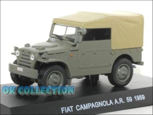 1:43 modellino Polizia italiana / Police - FIAT CAMPAGNOLA A.R.59 - 1959 (47)