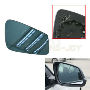 WING MIRROR GLASS FITS BMW 1 SERIES E87 HATCHBACK 2009-2012 HEATED LEFT